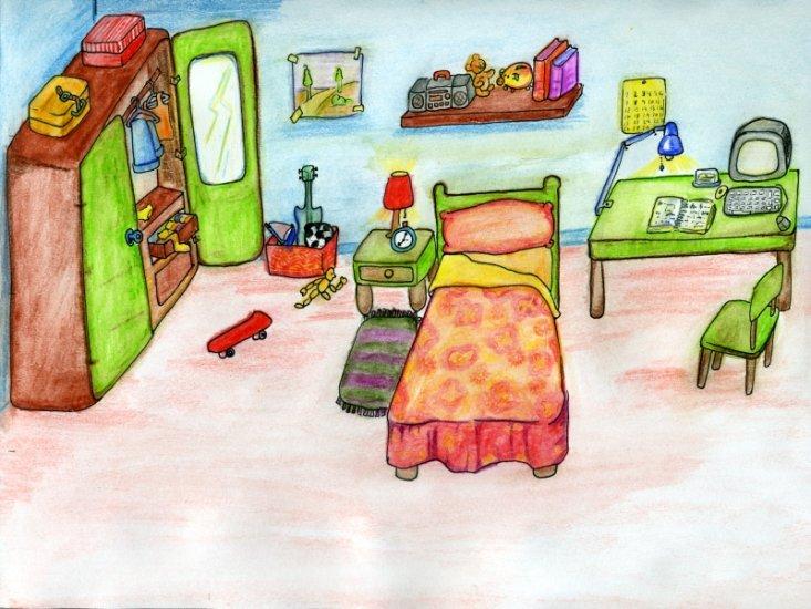 Vocabulaire chambre for Oignon dans la chambre